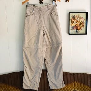 Vintage North Face Zip Off Swishy Pants